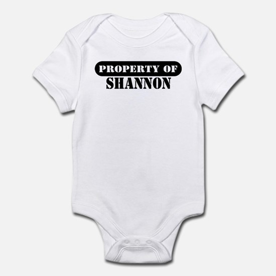 Property of Shannon Infant Bodysuit