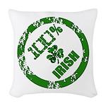 Irish Pride Woven Throw Pillow