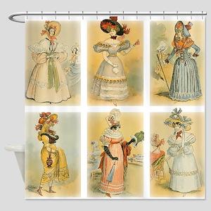 Vintage Paris Fashion (18th and 19th century) Show