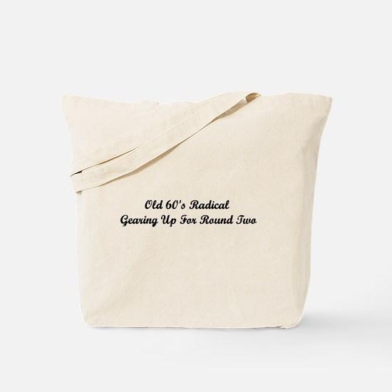 Old 60's Radical Tote Bag