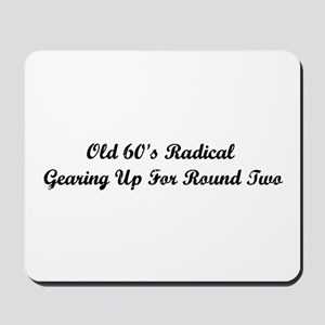 Old 60's Radical Mousepad