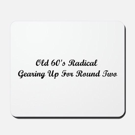 Old 60's Radical Mousepad