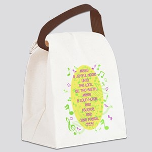 Psalm 98 4 Canvas Lunch Bag