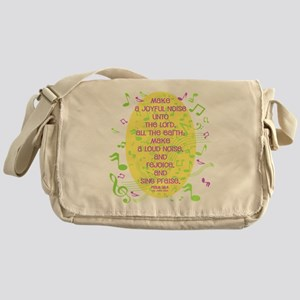 Psalm 98 4 Messenger Bag
