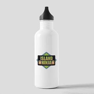 Island Ninja Stainless Water Bottle 1.0L