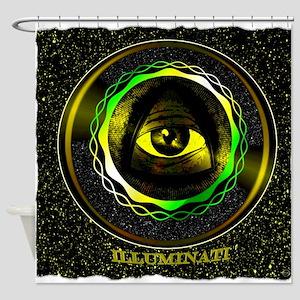 illuminati Shower Curtain