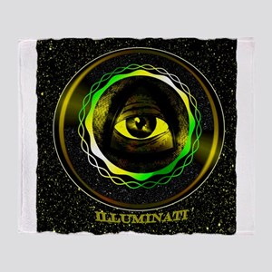 illuminati Throw Blanket