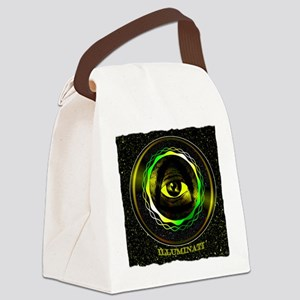 illuminati Canvas Lunch Bag