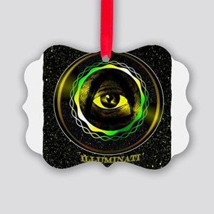 illuminati Picture Ornament