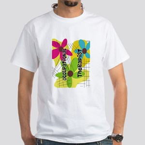 Occupational Therapy White T-Shirt