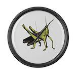 grasshopper Large Wall Clock