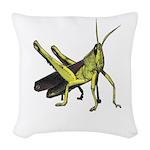 grasshopper Woven Throw Pillow
