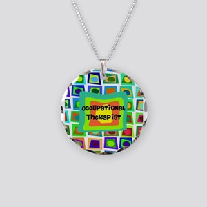 Occupational Therapy Necklace Circle Charm