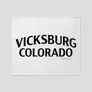 Vicksburg Colorado Throw Blanket