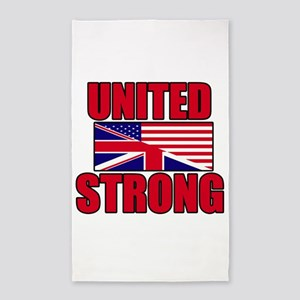 United Strong 3 3'x5' Area Rug