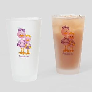 Big Sis Little Sis Ducks - Personlalize Drinking G