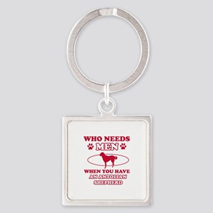 Funny Anatolian Shepherd lover designs Square Keyc
