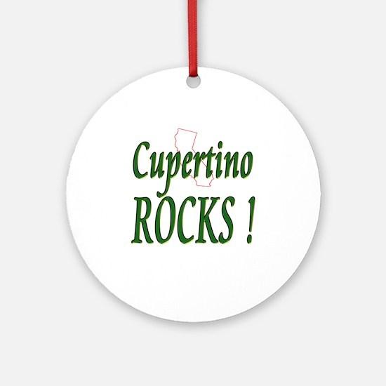Cupertino Rocks ! Ornament (Round)