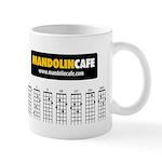 Mandolin Cafe 21-Chord Mug Mugs