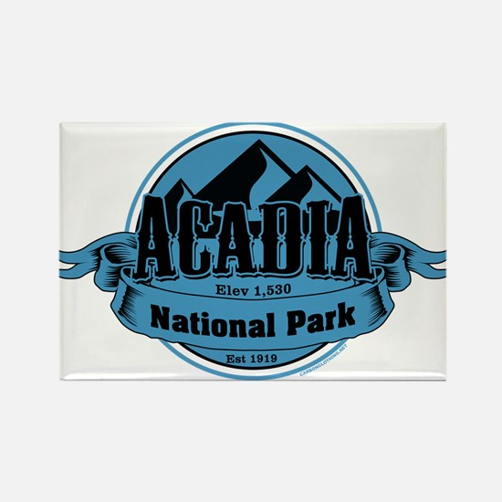 acadia 5 Rectangle Magnet