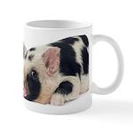 Micro pig chilling out Small Mug