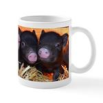 3 little micro pigs Small Mug