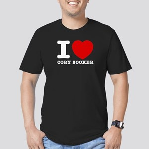 Political Designs Men's Fitted T-Shirt (dark)