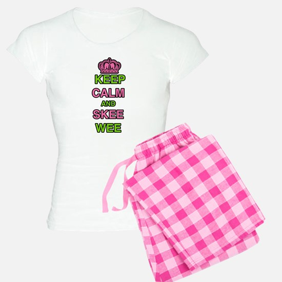 Keep Calm and Skee Wee Pajamas