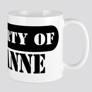 Property of Roxanne Mug