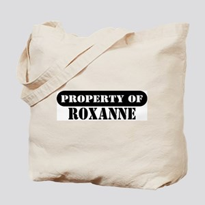 Property of Roxanne Tote Bag