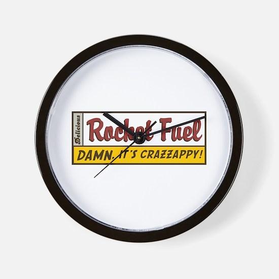 Rocket Fuel Wall Clock
