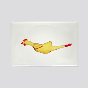 Rubber Chicken Rectangle Magnet