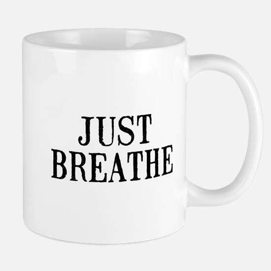 Just Breathe Small Mug