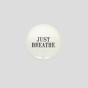 Just Breathe Mini Button