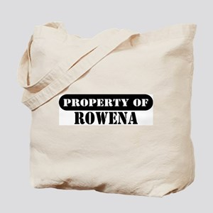 Property Of Rowena Tote Bag