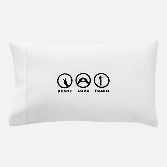 Amateur Radio Pillow Case