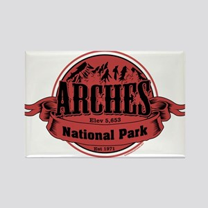 arches 2 Rectangle Magnet