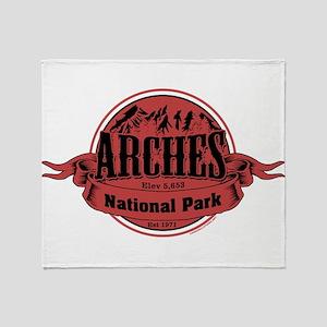 arches 2 Throw Blanket