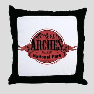 arches 2 Throw Pillow