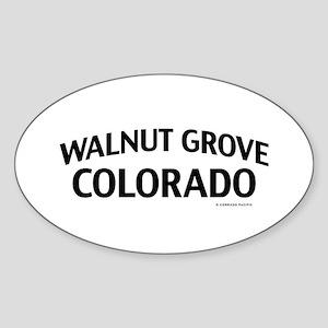 Walnut Grove Colorado Sticker