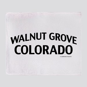 Walnut Grove Colorado Throw Blanket