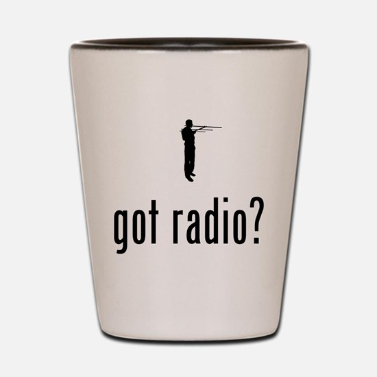 Amateur Radio Shot Glass