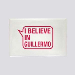 I Believe In Guillermo Rectangle Magnet
