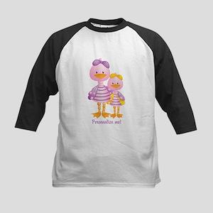Big Sis Little Sis Ducks - Personlalize Baseball J