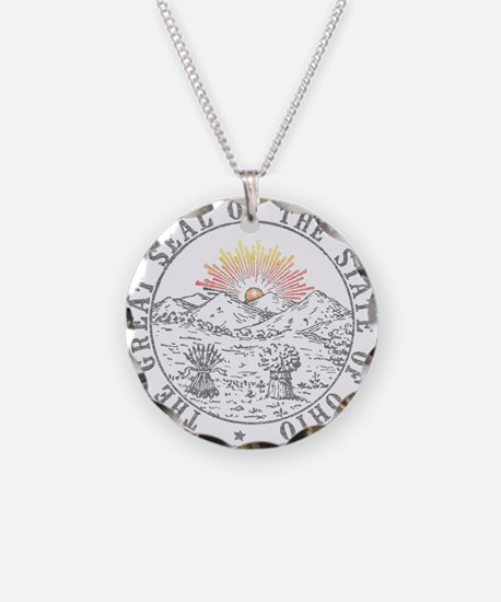 Vintage Ohio State Seal Necklace