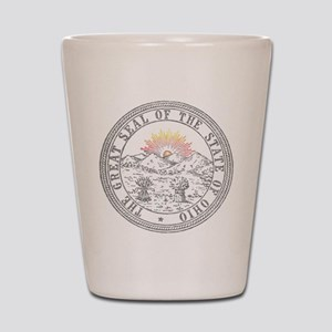 Vintage Ohio State Seal Shot Glass