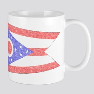 Vintage Ohio State Flag Mug