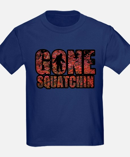 Gone Squatchin red maples T