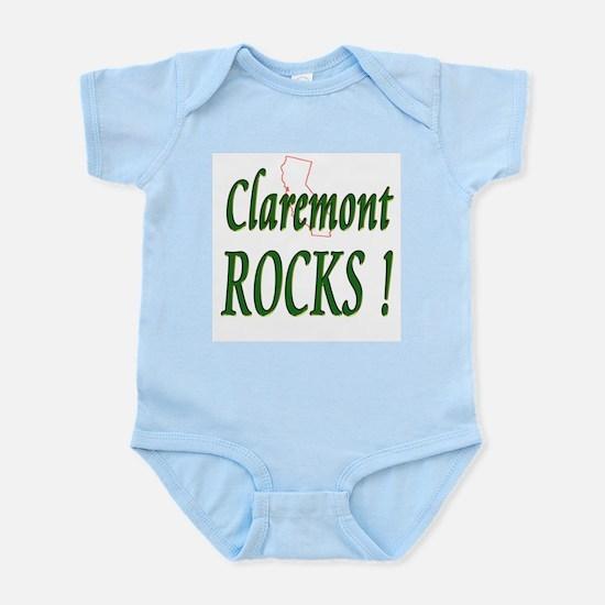 Claremont Rocks ! Infant Bodysuit
