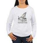 SFUMATO Books Women's Long Sleeve T-Shirt